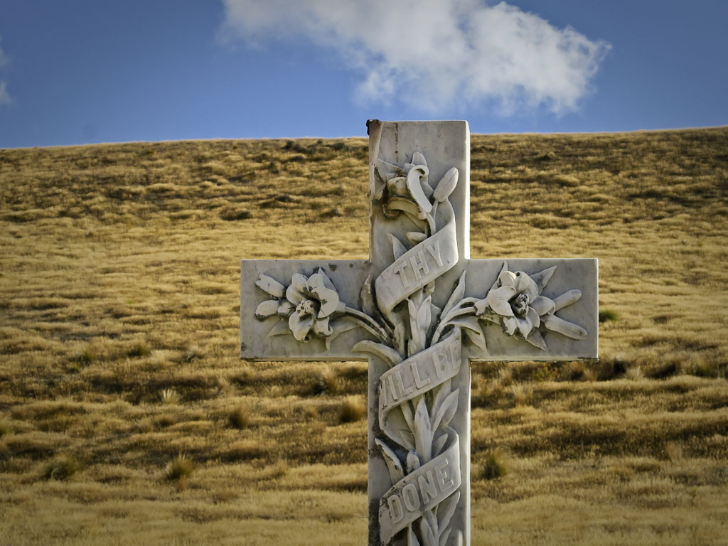The Nevis Valley Cemetry in Central Otago New Zealand
