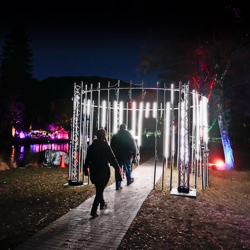 LUMA Southern Light Project – Queenstown Gardens