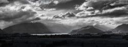 Lake Wanaka and Upper Clutha Basin panorama