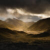 Lindis Pass, dramatic weather front