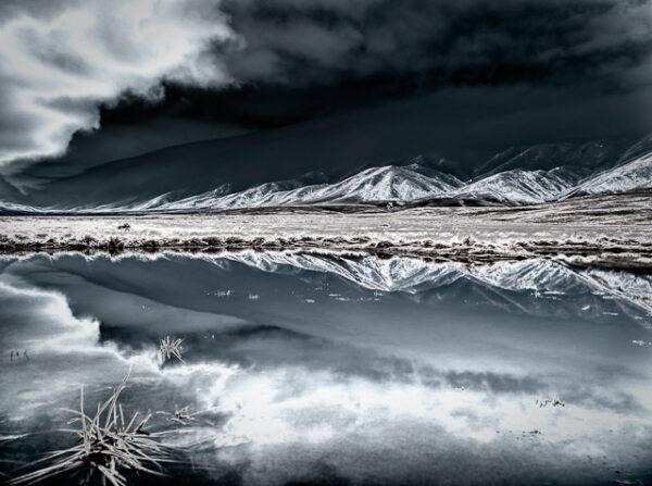 Hawkdun Range in the Oteake Conservation Area NZ
