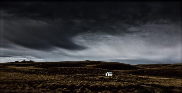 Rabbiter's hut in Central Otago